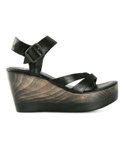 CALLEEN CORDERO | Leather Suri Wedge Sandals From