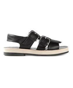 Cotélac   Calf Leather Buckled Sandals From