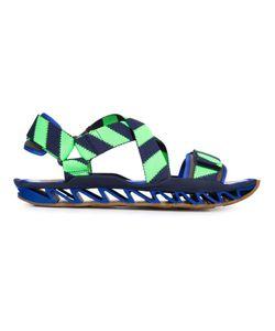 Bernhard Willhelm | Navy And Cotton X Camper Himalayan Sandals From