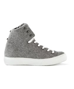 RUSSY VALENKI | Wool Boy Hi-Top Sneakers From