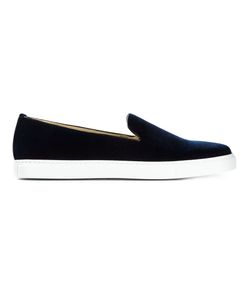 Alberto Moretti | Leather Slip-On Sneakers From
