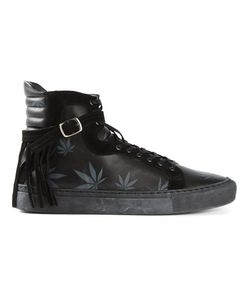 Eugène Riconneaus | Leather Calcuta Hi-Top Sneakers From
