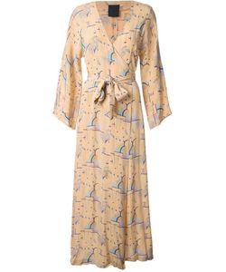BIBA VINTAGE | Вечернее Платье С Рукавами Кимоно