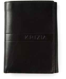 KRIZIA VINTAGE | Leather Classic Bill Fold Wallet From
