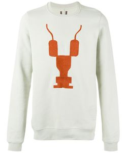 RICK OWENS DRKSHDW | Print Front Sweatshirt Size Medium