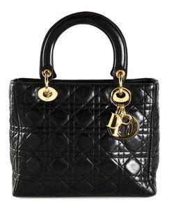 Christian Dior Vintage | Средняя Сумка-Тоут Lady Dior