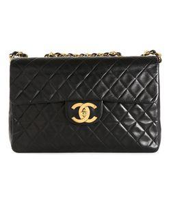 Chanel Vintage | Большая Сумка С Откидным Клапаном
