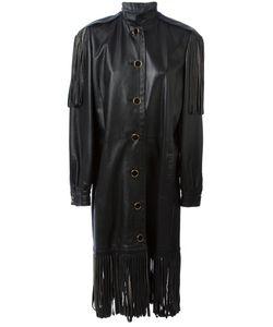 Christian Dior Vintage | Кожаное Пальто С Бахромой