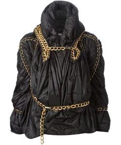 JUNYA WATANABE COMME DES GARCONS | Драпированная Куртка С Декоративной Цепью