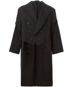 YOHJI YAMAMOTO VINTAGE | Wool Tail Jacket From Featuring A Wide Lapel Long Sleeves A Double Breasted Front Fastening And Button Cuffs