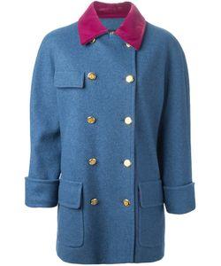 Chanel Vintage | Пальто С Бархатным Воротником