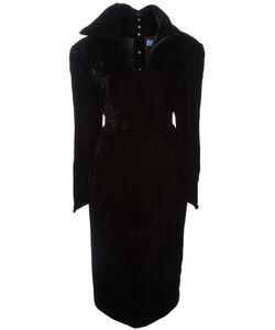 THIERRY MUGLER VINTAGE | Платье С Пышным Воротом