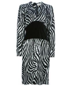 Givenchy   Платье С Контрастным Поясом