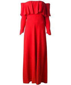 BIBA VINTAGE | Макси Платье Со Спущенными Плечами