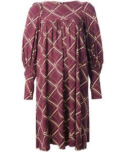 BIBA VINTAGE | Свободное Платье В Сетку