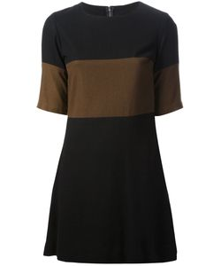 BIBA VINTAGE | And Abingdon Road Dress From Biba Featuring A Round Neck Short Sleeves Contrasting Panels And A Concealed Rear Zip Fastening