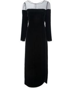 LOUIS FERAUD VINTAGE | Бархатное Платье С Поясом