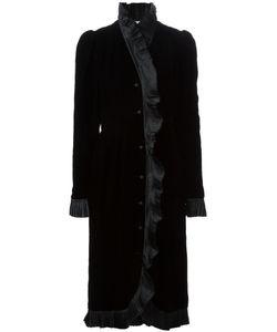 NINA RICCI VINTAGE | Бархатное Платье С Оборками
