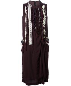 Comme Des Garcons | Платье С Аппликацией Tricot Cdg