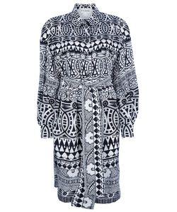 GIANFRANCO FERRE VINTAGE | Платье С Геометрическим Рисунком
