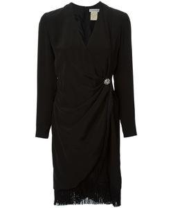 GUY LAROCHE VINTAGE | Платье С Запахом И Бахромой
