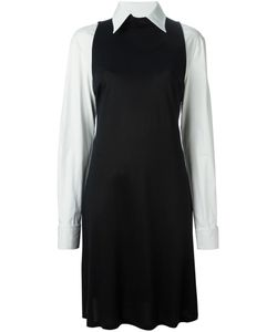 GIANFRANCO FERRE VINTAGE | And Cotton Colour Block Shirt Dress From