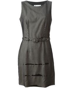 MOSCHINO VINTAGE | Платье С Поясом В Клетку