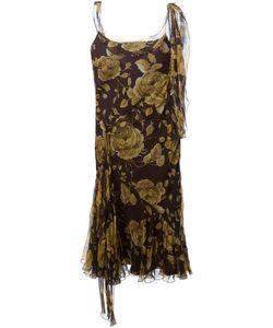 Christian Dior Vintage | Асимметричное Платье В Принт
