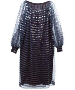 Christian Dior Vintage | Многослойное Платье С Пайетками