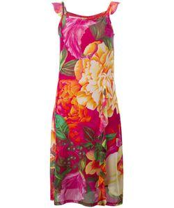 Kenzo | Прозрачное Платье С Цветочным Принтом