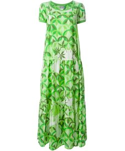 WALTER VAN BEIRENDONCK VINTAGE | Расклешенное Платье Hi-Sci-Fi
