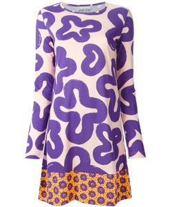 WALTER VAN BEIRENDONCK VINTAGE | Платье С Абстрактным Принтом