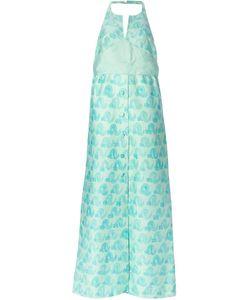 COURREGES VINTAGE | Вечернее Платье С Открытой Спиной
