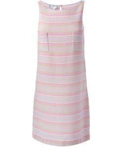 Chanel Vintage | Твидовое Платье В Полоску