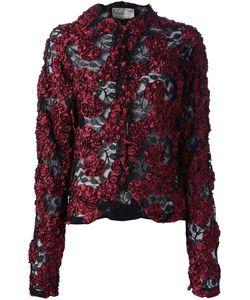 KRIZIA VINTAGE | Куртка С Кружевной Цветочной Аппликацией