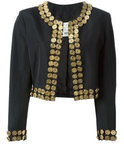 MOSCHINO VINTAGE | Куртка С Отделкой Из Металлических Монет
