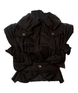 Comme Des Garcons | Куртка Без Рукавов С Оборкой