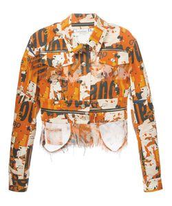 Christian Dior Vintage | Джинсовая Куртка С Принтом