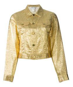Comme Des Garcons | Джинсовая Куртка С Металлическим Отблеском