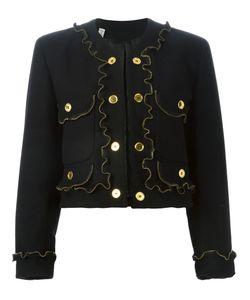 MOSCHINO VINTAGE | Куртка С Отделкой В Виде Молний