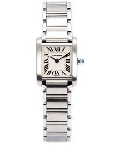 Cartier Vintage | -Tone Steel Tank Francaise Watch From