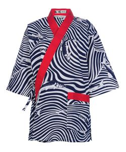 KANSAI YAMAMOTO VINTAGE | Блузка-Кимоно С Запахом
