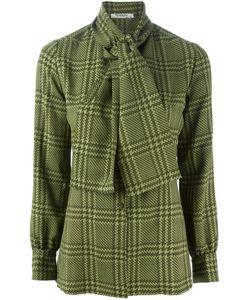 Christian Dior Vintage   Рубашка В Ломаную Клетку