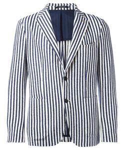 Tagliatore | Striped Blazer Size 50