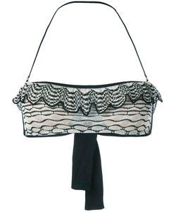 CECILIA PRADO | Ruffled Bikini Top Size Small