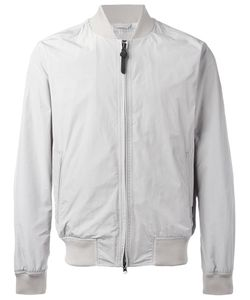 Woolrich | Zipped Bomber Jacket Small Polyester/Polyamide/Cotton