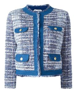 Pierre Balmain | Tweed Jacket 44 Cotton/Acrylic/Polyamide/Viscose