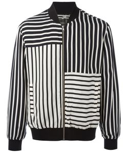 Mcq Alexander Mcqueen | Striped Bomber Jacket Size 52