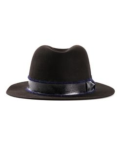 FILU HATS | Caffe Hare Fur Felt Gstaad Hat From Featuring A Concave Top A Mohair Blend Trim And An Internal Grosgrain Browband