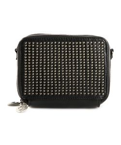 CALLEEN CORDERO   Leather Studded Shoulder Bag From Featuring A Shoulder Strap And An All Around Zip Fastening